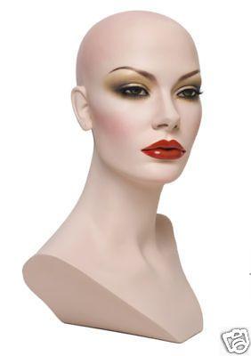 Wig MANNEQUIN HEADS Heidi Beautiful & Made in America