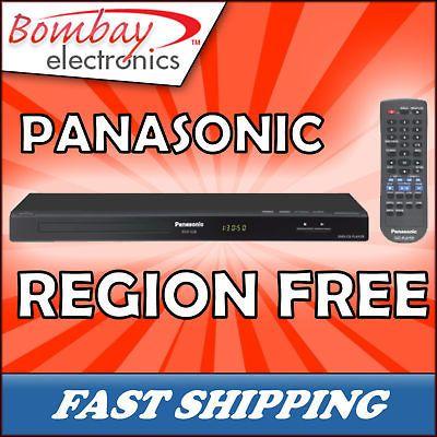 PANASONIC Region Free 1 2 3 4 5 6 PAL NTSC DVD Player $