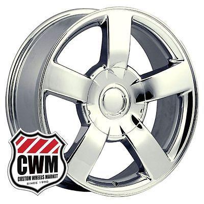 Chevy Silverado SS Style Chrome Wheels Rims for GMC Yukon Denali 2011
