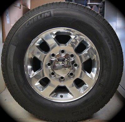13 Chevy Silverado HD 2500 3500 18 OEM Wheels Rims Tires GMC Sierra