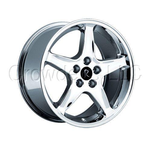 OEM Ford Mustang Cobra Wheel Rim 280 Chrome 20 4 Lug