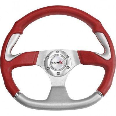 Ez go RZR 4 POLARIS Ranger steering wheel golf cart W/ Adapter 3 spoke