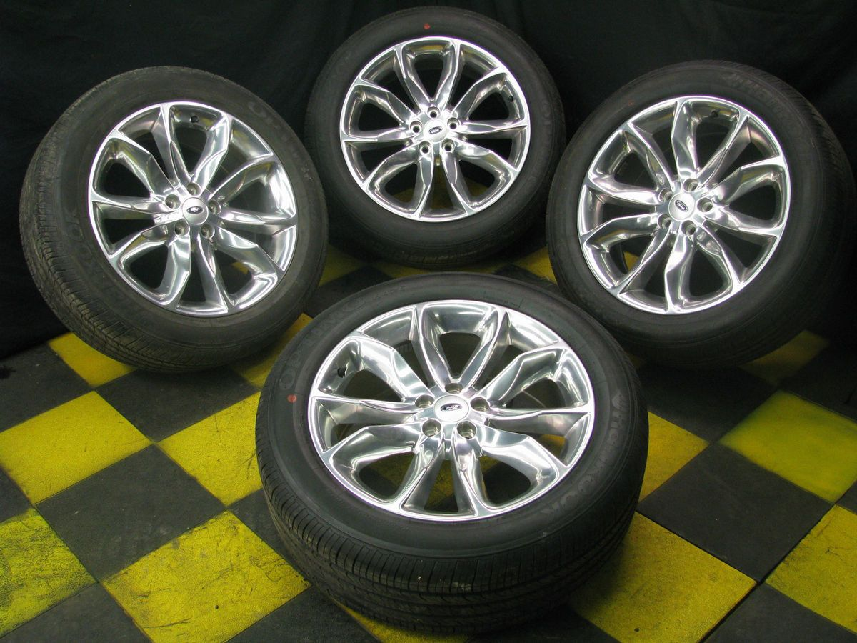 20 Ford Explorer Polished Factory Wheels Rims Tires