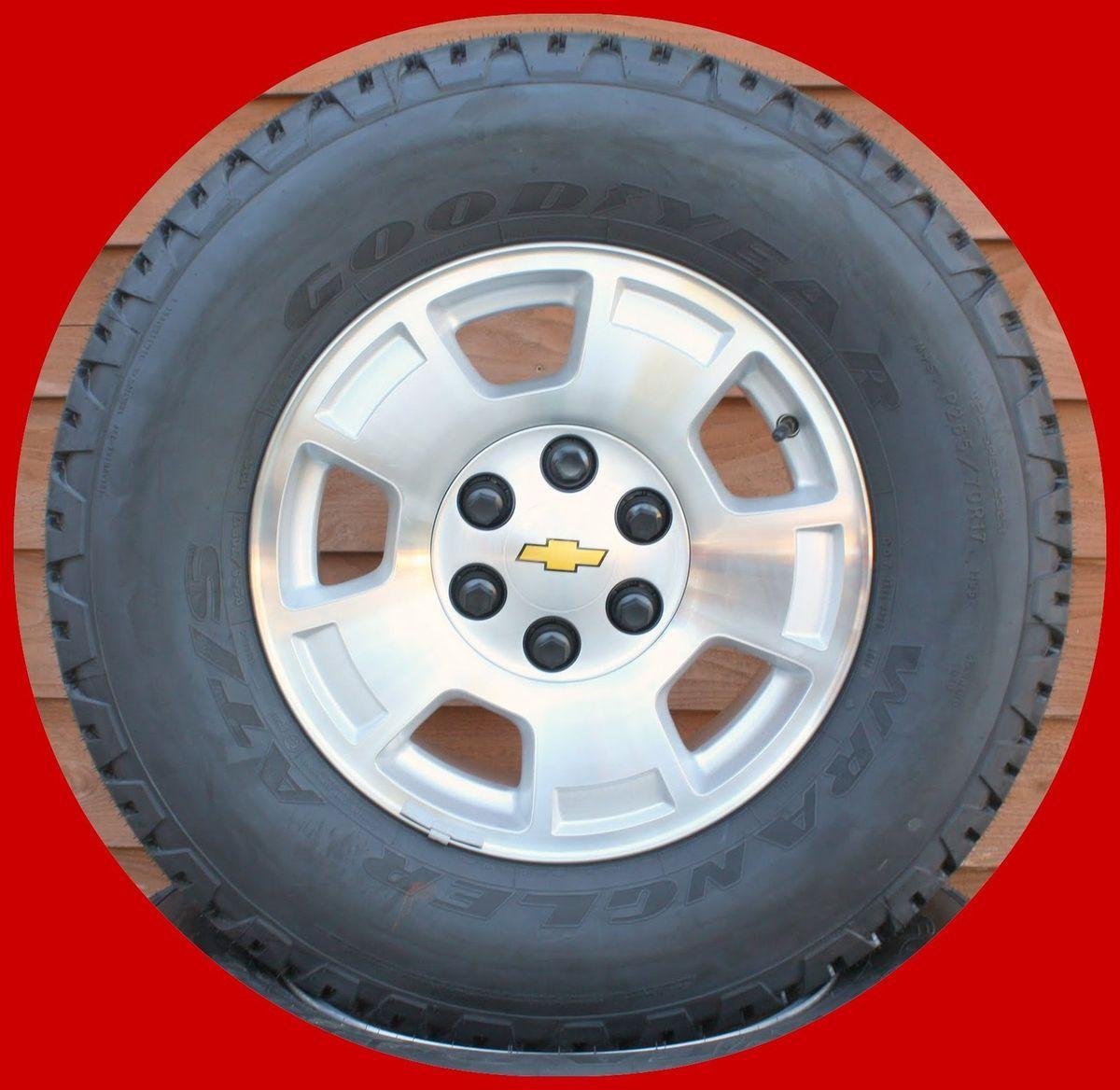 New 2012 Chevy Silverado Tahoe Suburban Avalanche 17 Wheels Goodyear