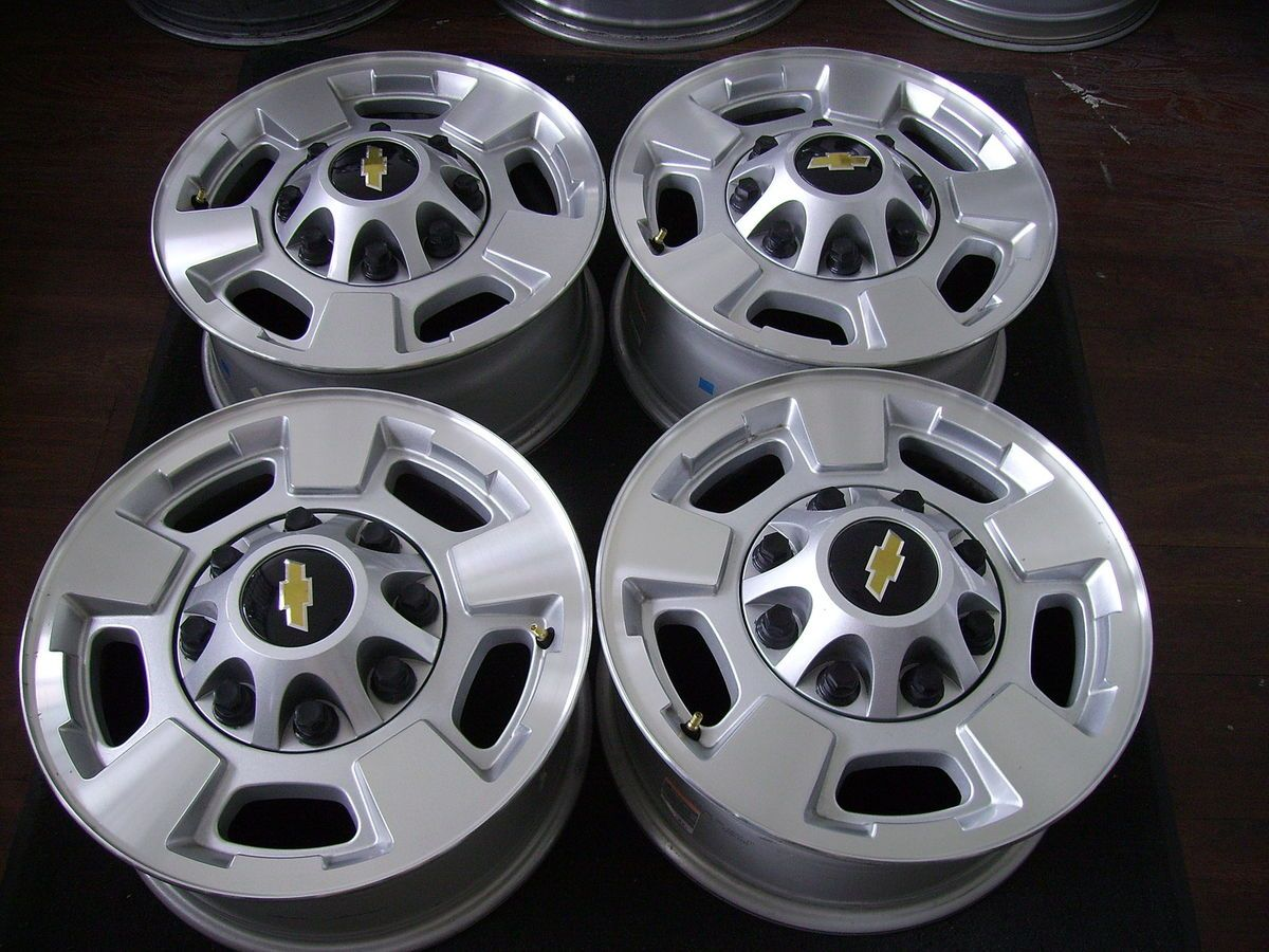 Chevy Silverado 2011 2012 GMC Sierra Factory OEM 8 Lug Wheels Rims