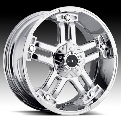 17 vtec 394 Chrome Wheels Rims Chevy Tahoe Silverado