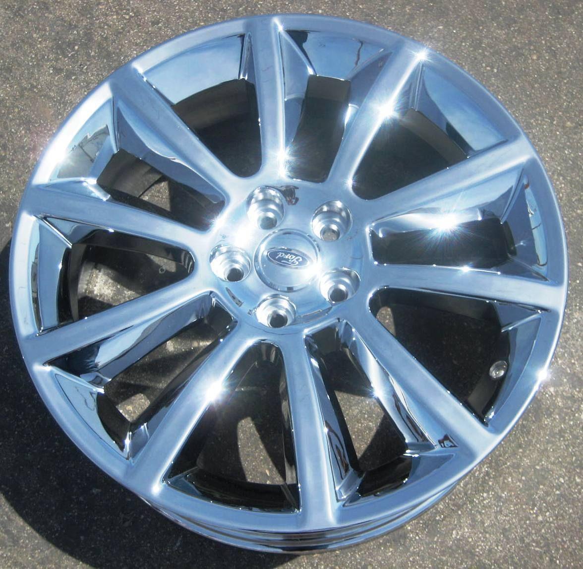 New 20 Factory Ford Flex Chrome Wheels Rims 2009 2012 Set of 4