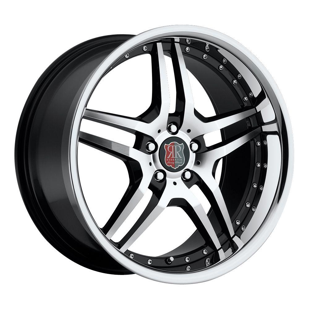 Black Chrome Wheels Rims Fit Mercedes CLK W208 W209 1996 2009