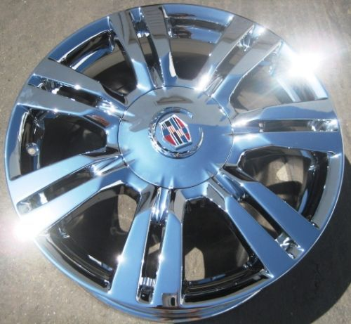 FACTORY GM CADILLAC SRX CHROME WHEELS RIMS 2010 12 EXCHANGE YOUR STOCK