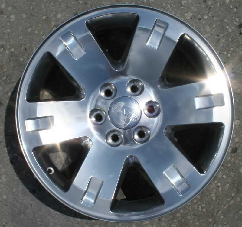 20 2007 08 09 GMC Sierra Yukon Denali Polished Wheel