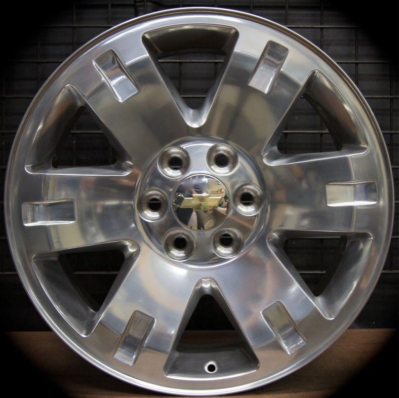 New GMC Sierra Yukon XL Polished 20 Wheels Rims Chevy Silverado Tahoe