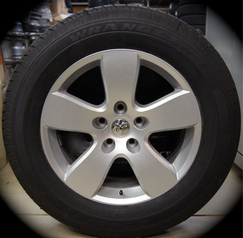 New 2012 Dodge RAM 20 Factory Wheels Rims Tires P275 60R20 Fits 2002