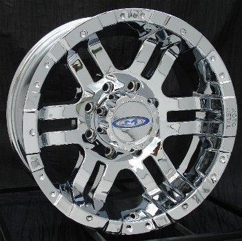 16 inch Chrome Wheels Rims Chevy HD Dodge 2500 8 Lug