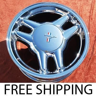 New 17 Ford Mustang GT Chrome Wheels Rims Escape Explorer 3089