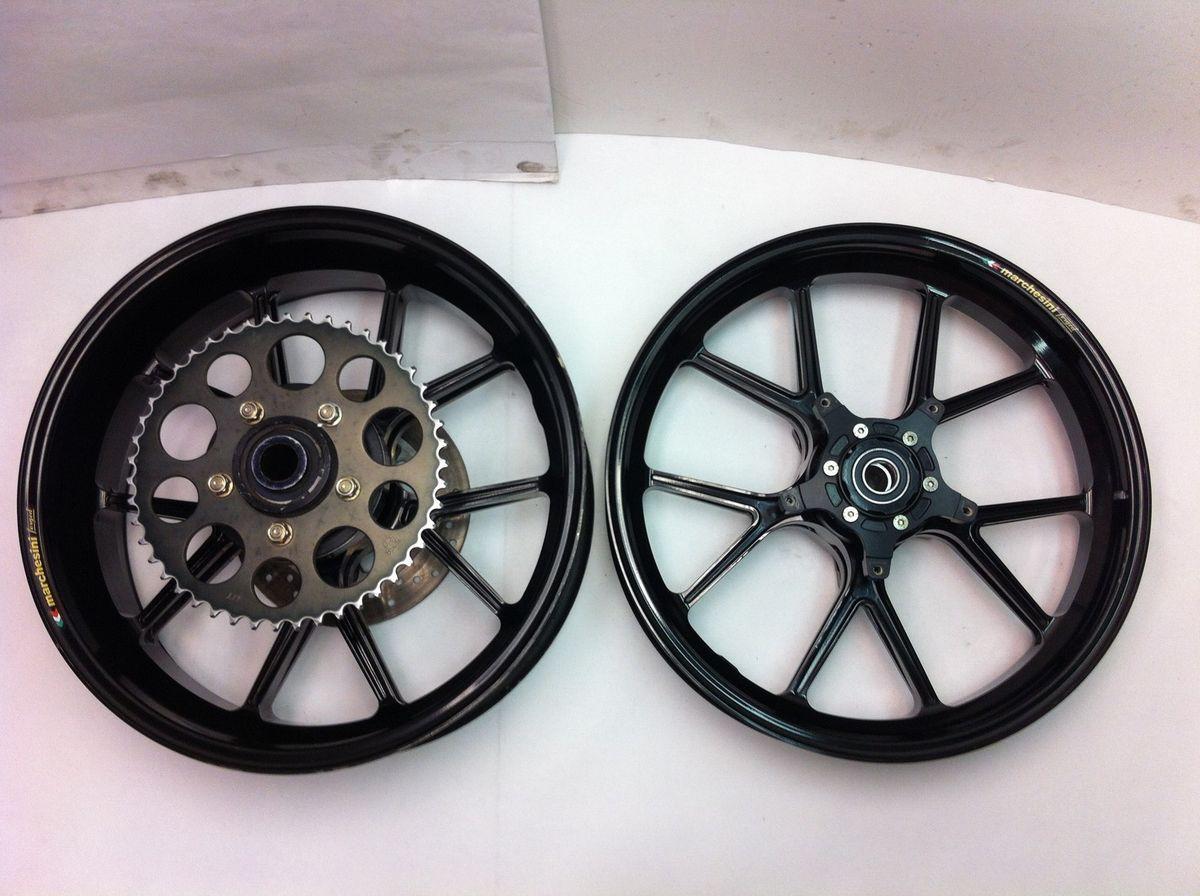 09 10 11 12 R1 16 5 Marchesini Magnesium Wheel Set Rim R6 Rims