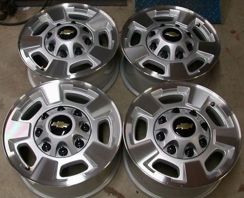 13 Chevy Silverado GMC Sierra 2500 3500 8 Lug 17 Wheels Rims