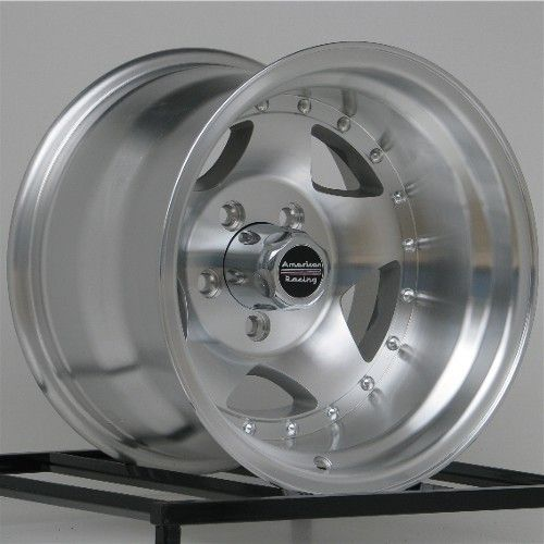 American Racing Wheels AR23 15 15x10 Alloy Wheels Ford Ranger TJ YJ