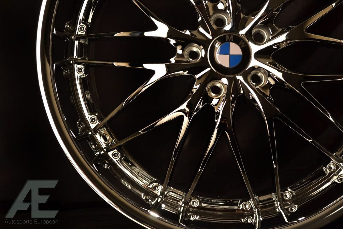 BMW 328i Z4 M M3 E93 F30 F31 Wheels Rims and Tires GT1 Chrome