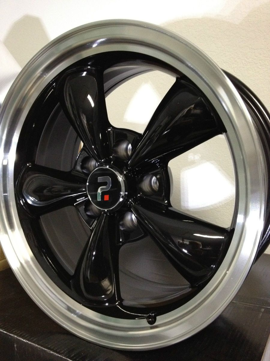 Black Ford Mustang Bullet Factory OE Wheels Rims 17x9 17x8 Staggered