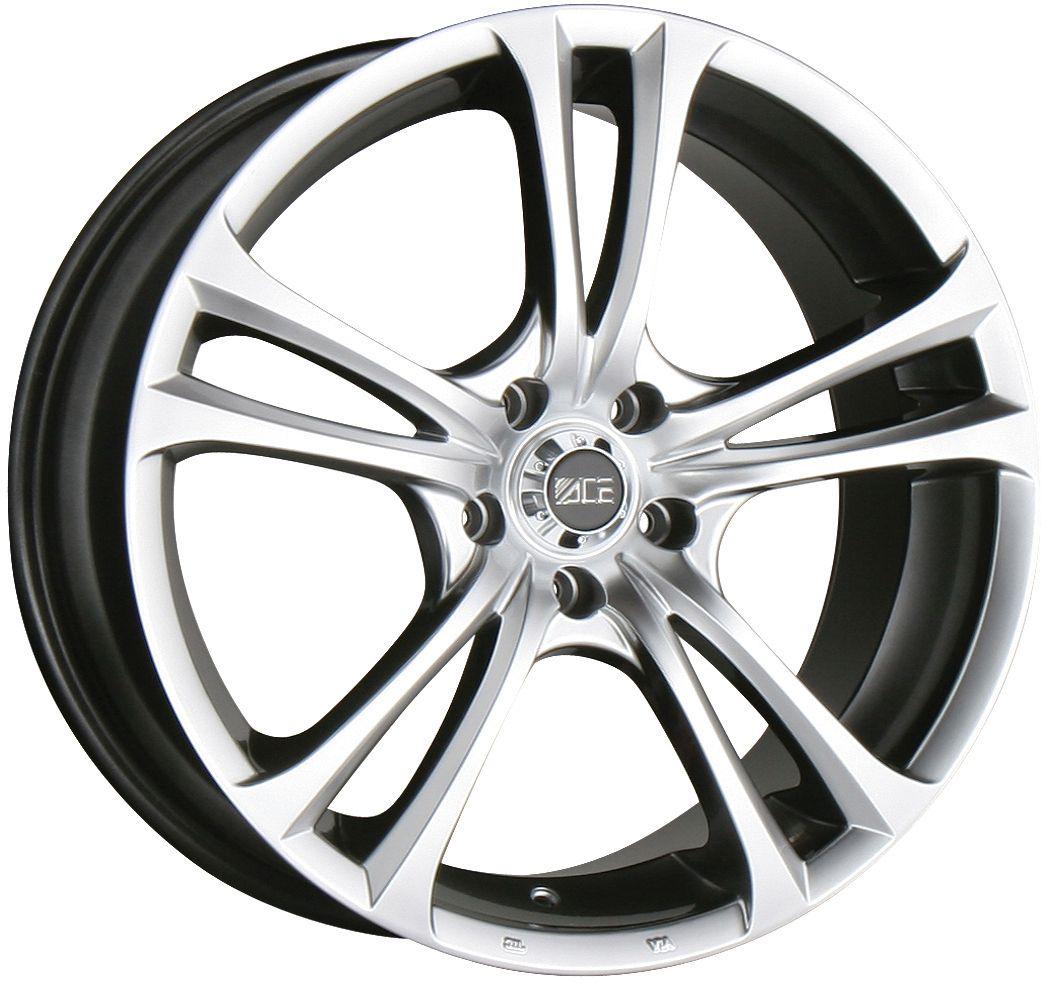 19 Ace Manta Hyper Black Wheels Rims Honda Accord Prelude Acura CL