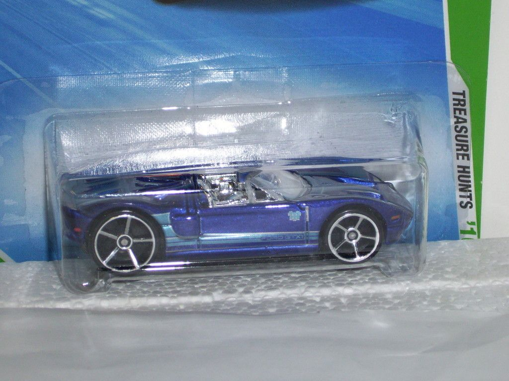 Hot Wheels Ford GTX 1 Treasure Hunt 51 240 Nice