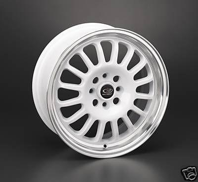 16 Rota Track R White Rims Wheels 16x7 40 4x100 Fit Mini Cooper Civic