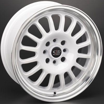 Rota Track R 16x7 4x100 ET40 Royal White Rims Wheels