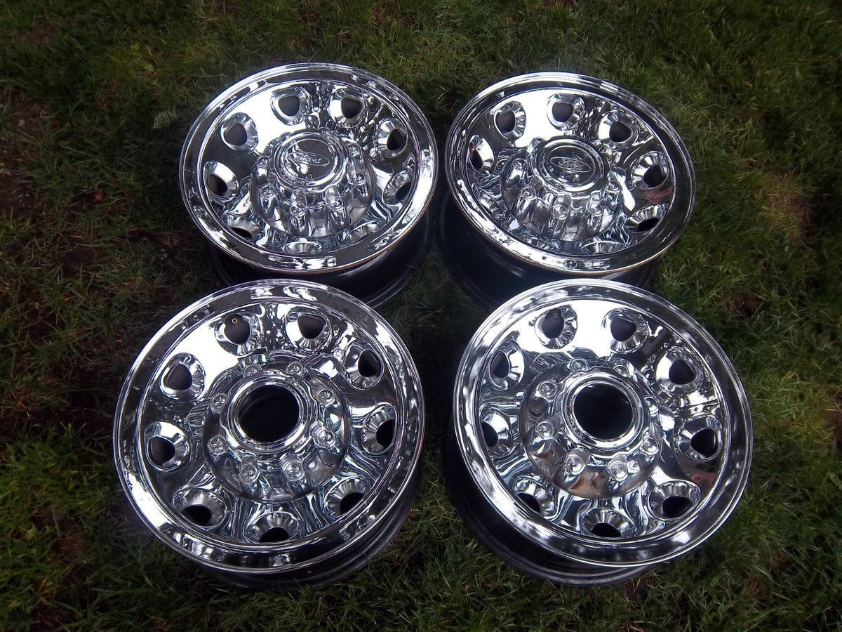 16 Ford F250 F350 Chrome Factory Wheels Rims Excursion 99 04
