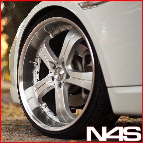 BMW E65 E66 745 750 760 Concave Silver Staggered Wheels Rims