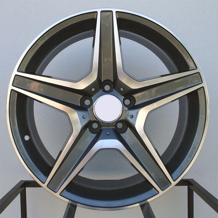 19 C63 AMG Style Wheels Rims Fit Mercedes C250 C300 C350 2008 2012
