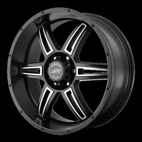 17 inch Black Wheels Rims GMC Sierra Yukon Tahoe Avalanche 6 Lug 6x5 5