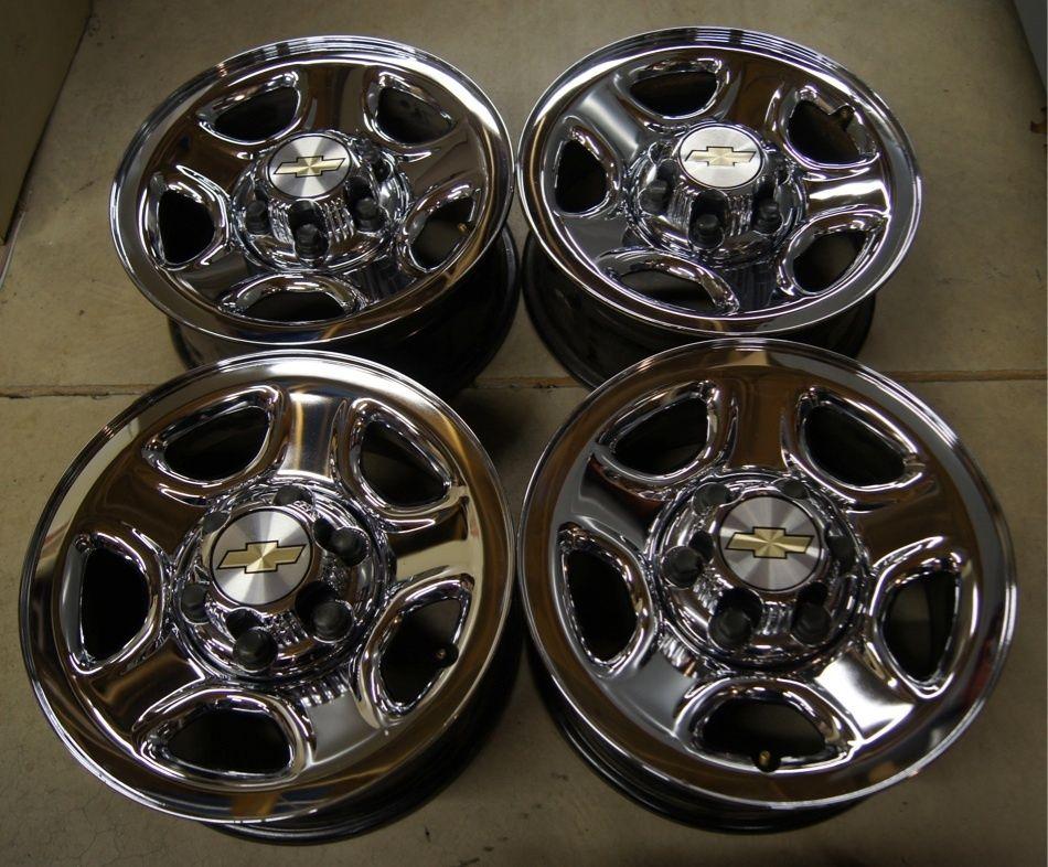 Silverado Express Tahoe GMC Sierra Yukon Savana 16 Factory Wheels Rims