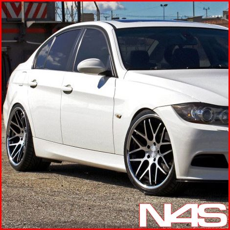 E90 M3 SEDAN VERTINI MAGIC CONCAVE STAGGERED WHEELS RIMS HANKOOK TIRES