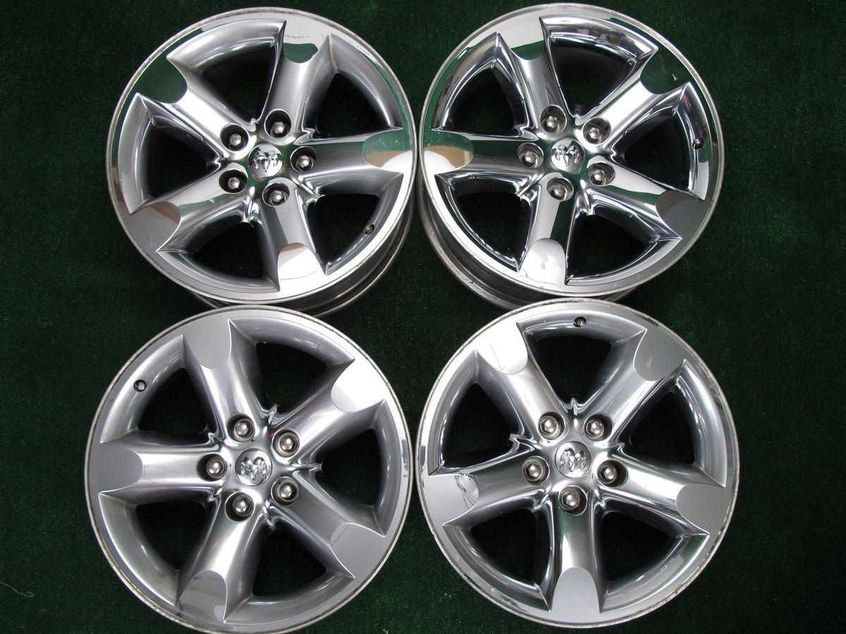 giant chrome wheels lugs for cheap OEM DODGE RAM 1500 ALLOY 20 WHEELS