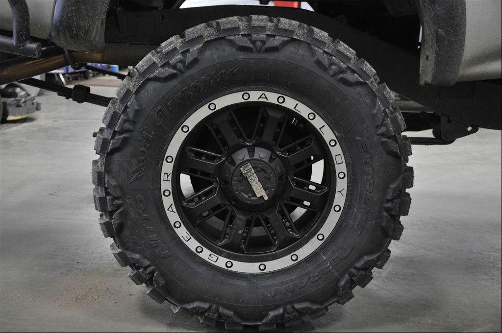 Nitro Wheels 6 Lug 6x135 6x139 7 5 5 Rims Black Chevy Ford