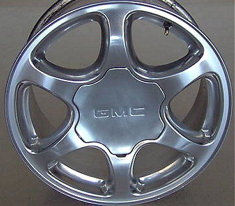 POLISHED GMC DENALI YUKON XL SIERRA FACTORY WHEEL RIM 2004 06 H 5132