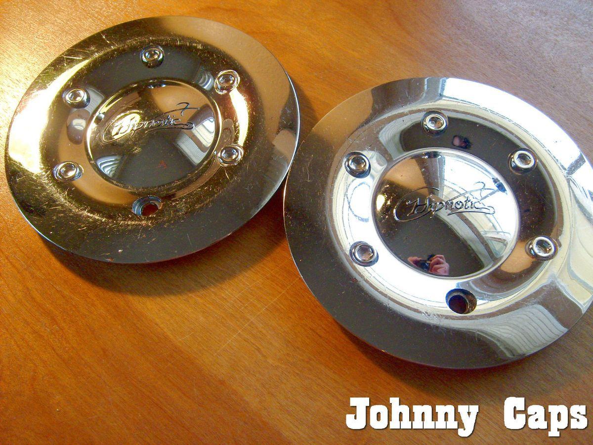 Hipnotic Wheels Center Caps 280L160 Custom Wheel Chrome Center Caps 2