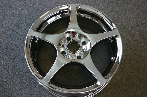 Chrome Toyota MR2 Staggered Wheels Rims Prt 69399