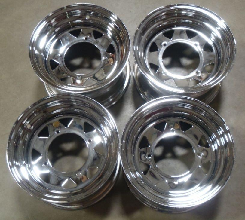 Sportsman 800 700 600 500 400 ATV Ranger Chrome Wheels Rims OEM Stock