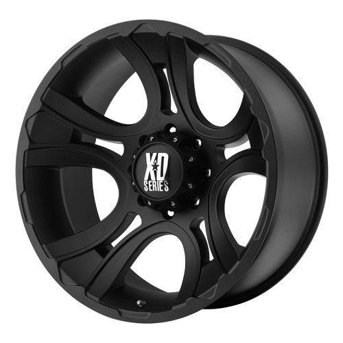 22 inch 22x11 XD Matte Black Wheels Rims 8x6 5 8x165 1 Hummer H2 H2