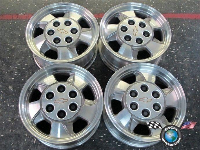 Tahoe Avalanche Silverado 1500 Factory 16 Wheels Rims 5096