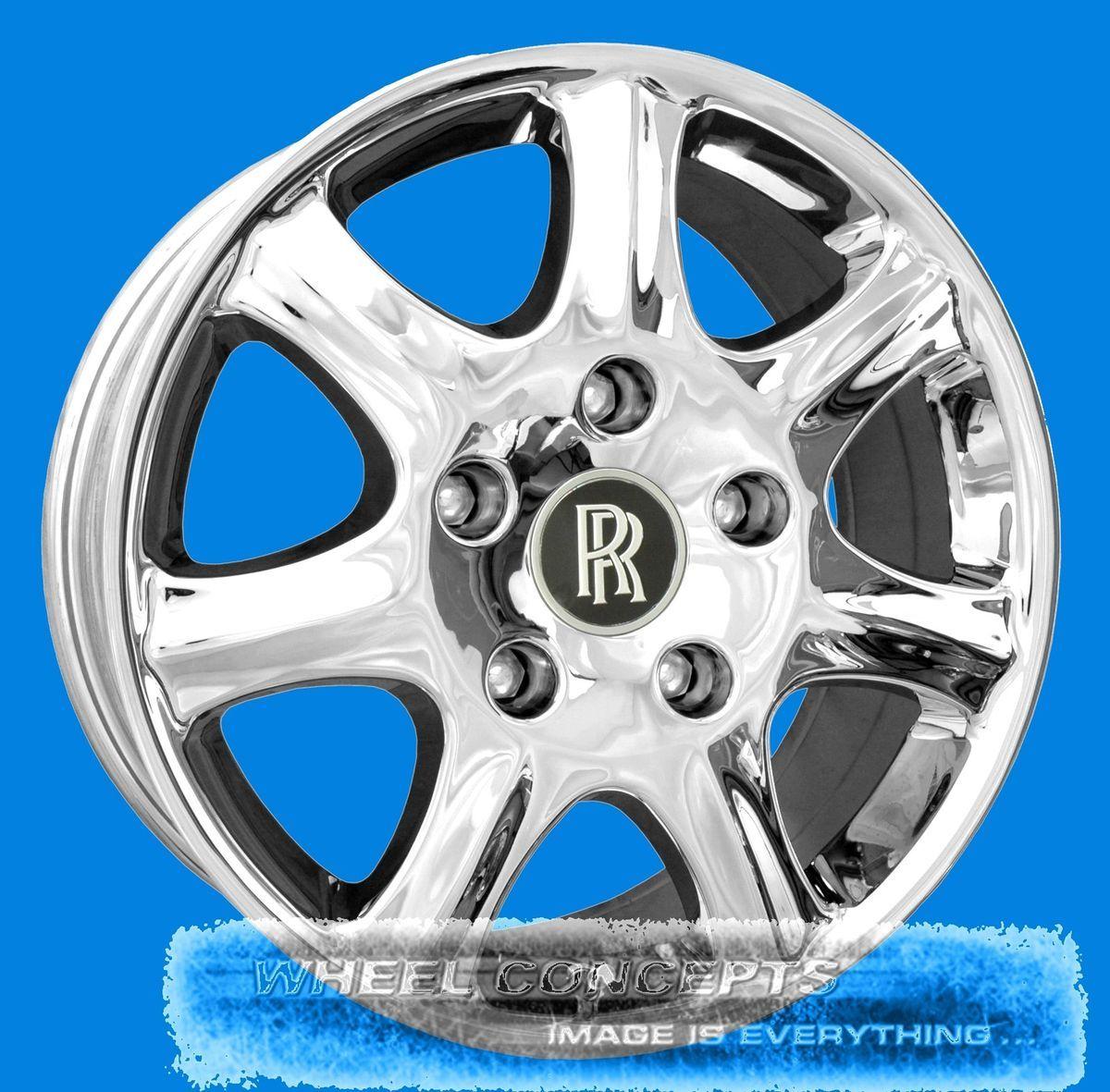 Spirit Wraith Dawn Spur 18 inch Chrome Wheels 18 Rims Tires