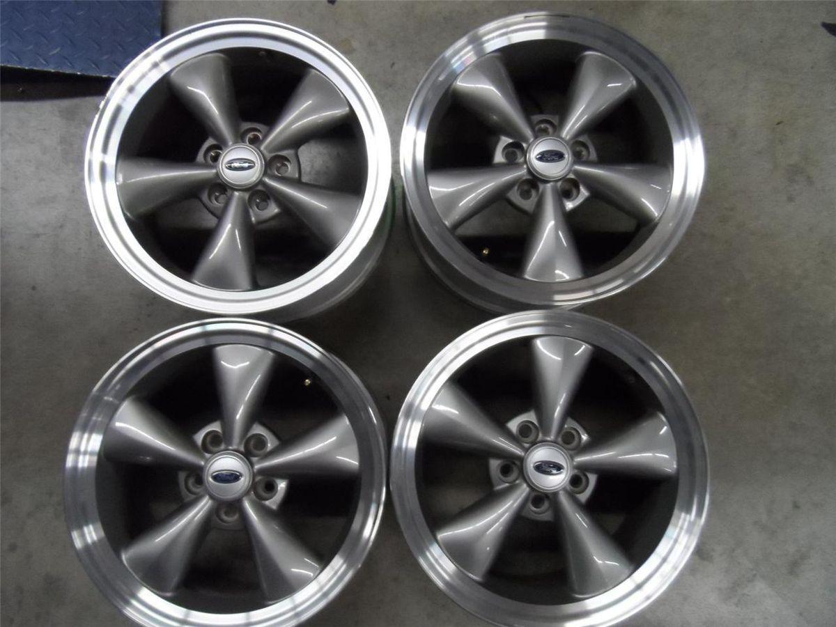 17 Ford Mustang GT Bullitt Wheels Super Clean