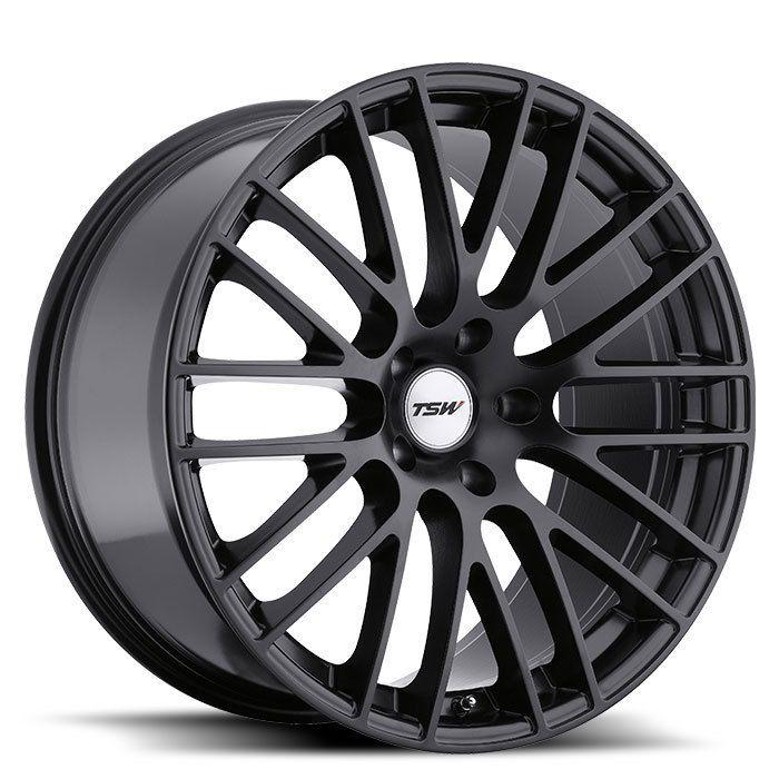 20x9 TSW Max Matte Black Wheel Rim s 5x120 5 120 20 9