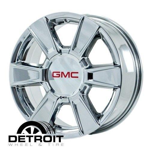 TERRAIN 2010 2011 PVD Bright Chrome Wheels Rims Factory 5449 Exchange