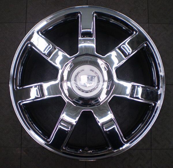 5309 Cadillac Escalade 22 Factory OE Chrome Wheel Rim A