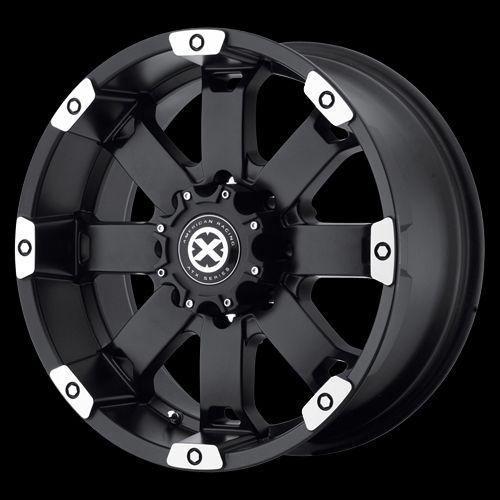 18 Inch Black Wheels Rims Ford F F250 F350 Truck E E250 E350 Van 8 Lug
