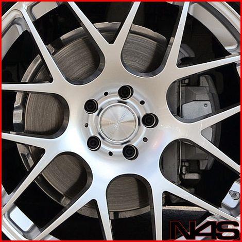 M3 Sedan Avant Garde M310 Concave Silver Staggered Wheels Rims