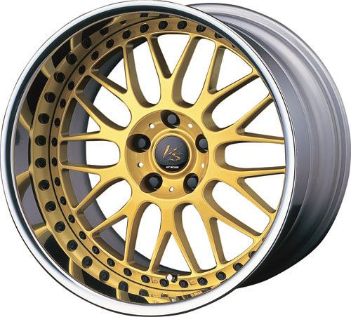 19 Work vs XX Gold Rims Wheels for Altima 350Z Genesis