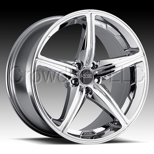 FOOSE Car Truck Wheel Rim Speed Chrome 19 inch 5 Lug